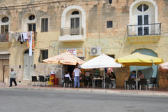 Malta malowniczy miasto Marsaxlokk Obrazy Royalty Free