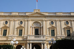 Malta malowniczy miasto Valletta Obrazy Royalty Free