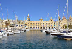 Malta Maritime Museum. In Three Cities Royalty Free Stock Photography