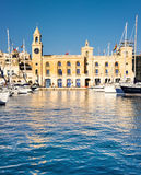 Malta Maritime Museum in Vittoriosa Royalty Free Stock Photo