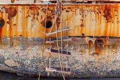 Malta. Marsachlokk. The old ship. Stock Photography