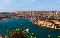 Malta,  Marsamxett harbour Royalty Free Stock Photography