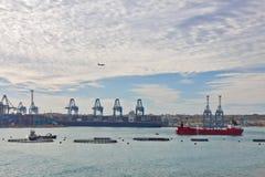 Malta - Marsaxlockk Fotografering för Bildbyråer