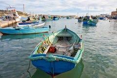Malta - Marsaxlockk Royaltyfria Bilder