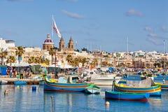 Malta - Marsaxlockk Stock Photo