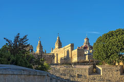The medieval citadel of Mdina. View of the walled Silent City, government and administrative centre during the medieval period - Mdina, Malta Royalty Free Stock Photos