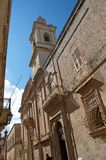 Malta, Mdina: Unique Medieval architecture royalty free stock images