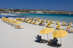 Malta - Melliera Bay royalty free stock photo