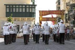 Malta - Military Band Royalty Free Stock Photography