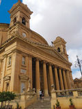 MALTA MOSTA 19.07.2017. The Mosta Dome, Rotunda. The Mosta Dome is perhaps the most impressive church in Malta, with its massive rotunda, that is the third Royalty Free Stock Photo