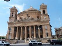 MALTA MOSTA 19.07.2017. The Mosta Dome, Rotunda. The Mosta Dome is perhaps the most impressive church in Malta, with its massive rotunda, that is the third Stock Image