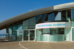 The Malta National Aquarium. Located at Qawra Point near Bugibba Stock Photo