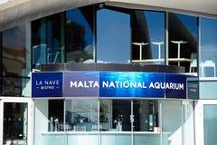 Malta National Aquarium. View of National Aquarium in St Pauls Bay, Bugibba, Malta, Europe Royalty Free Stock Image