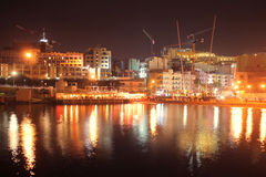 Malta by night Royalty Free Stock Photos