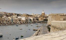 Malta, o porto pequeno Fotografia de Stock
