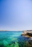 Malta Ocean. A swimming hole in Malta Stock Image