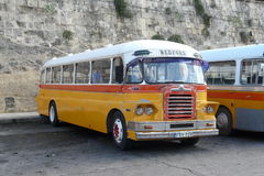 Malta Old Bus. Old bus in Malta. Until recent years they had some very old buses. Also were very attractive some of them were not very comfortable Stock Photos