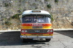 Malta Old Bus Royalty Free Stock Image