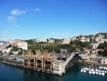 malta område moscow en panorama- sikt Arkivbilder