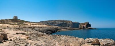 malta panorama Zdjęcie Royalty Free