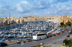 Malta panorama. Panoramic view of Valleta city in the island of malta Stock Photography