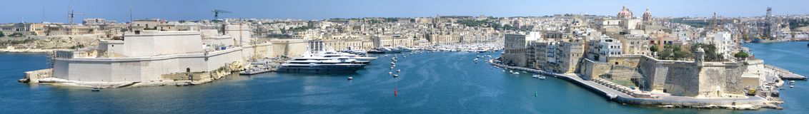 Malta panorama Royalty Free Stock Photos