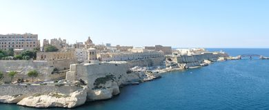 Malta panorama Stock Photos