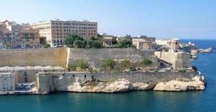 Malta panorama. Panorama of city of Valletta, Malta Royalty Free Stock Photo