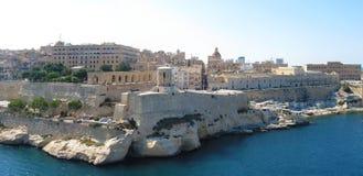 Malta panorama. Panorama of city of Valletta, Malta Stock Photos