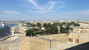 Malta panorama Royalty Free Stock Photography