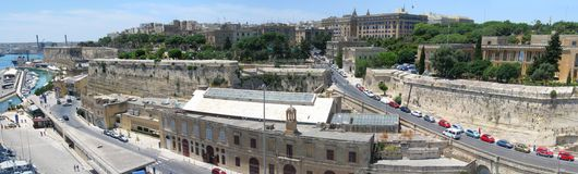 Malta panorama Stock Photography
