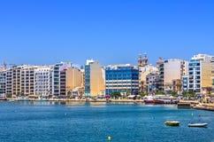 Malta - Panorama of Sliema Royalty Free Stock Photos