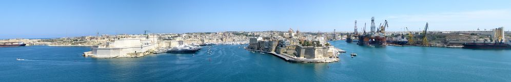 Malta panorama Stock Photo
