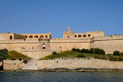 Malta, the picturesque bay of Valetta. Republic of Malta, the picturesque bay of Valetta Royalty Free Stock Photo