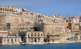 Malta, the picturesque bay of Valetta Royalty Free Stock Photos
