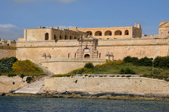 Malta, the picturesque bay of Valetta. Republic of Malta, the picturesque bay of Valetta Stock Image
