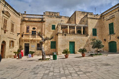 Malta, the picturesque city of Mdina. Republic of Malta, the picturesque city of Mdina Royalty Free Stock Photos