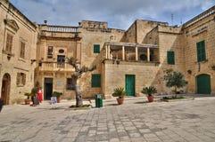 Malta, the picturesque city of Mdina Royalty Free Stock Photos