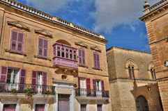 Malta, the picturesque city of Mdina. Republic of Malta, the picturesque city of Mdina Stock Photo
