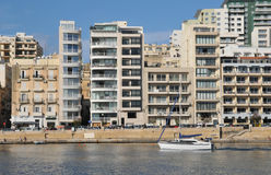 Malta, the picturesque city of Sliema. Republic of Malta, the picturesque city of Sliema Stock Photo