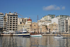 Malta, the picturesque city of Sliema. Republic of Malta, the picturesque city of Sliema Royalty Free Stock Photos