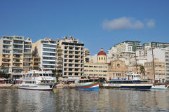 Malta, the picturesque city of Sliema Royalty Free Stock Image