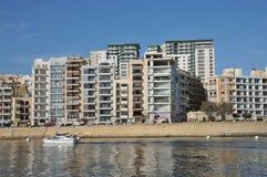 Malta, the picturesque city of Sliema Stock Image
