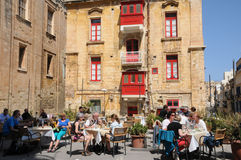 Malta, the picturesque city of Valetta Royalty Free Stock Images