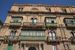 Malta, the picturesque city of Valetta Stock Photo
