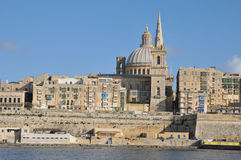 Malta, the picturesque city of Valetta Stock Images