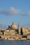 Malta, the picturesque city of Valetta Stock Photography