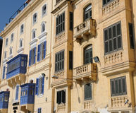 Malta, the picturesque city of Valetta. Republic of Malta, the picturesque city of Valetta Stock Photo