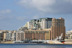 Malta, the picturesque city of Valetta Stock Photos
