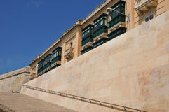 Malta, the picturesque city of Valetta. Republic of Malta, the picturesque city of Valetta Royalty Free Stock Photos